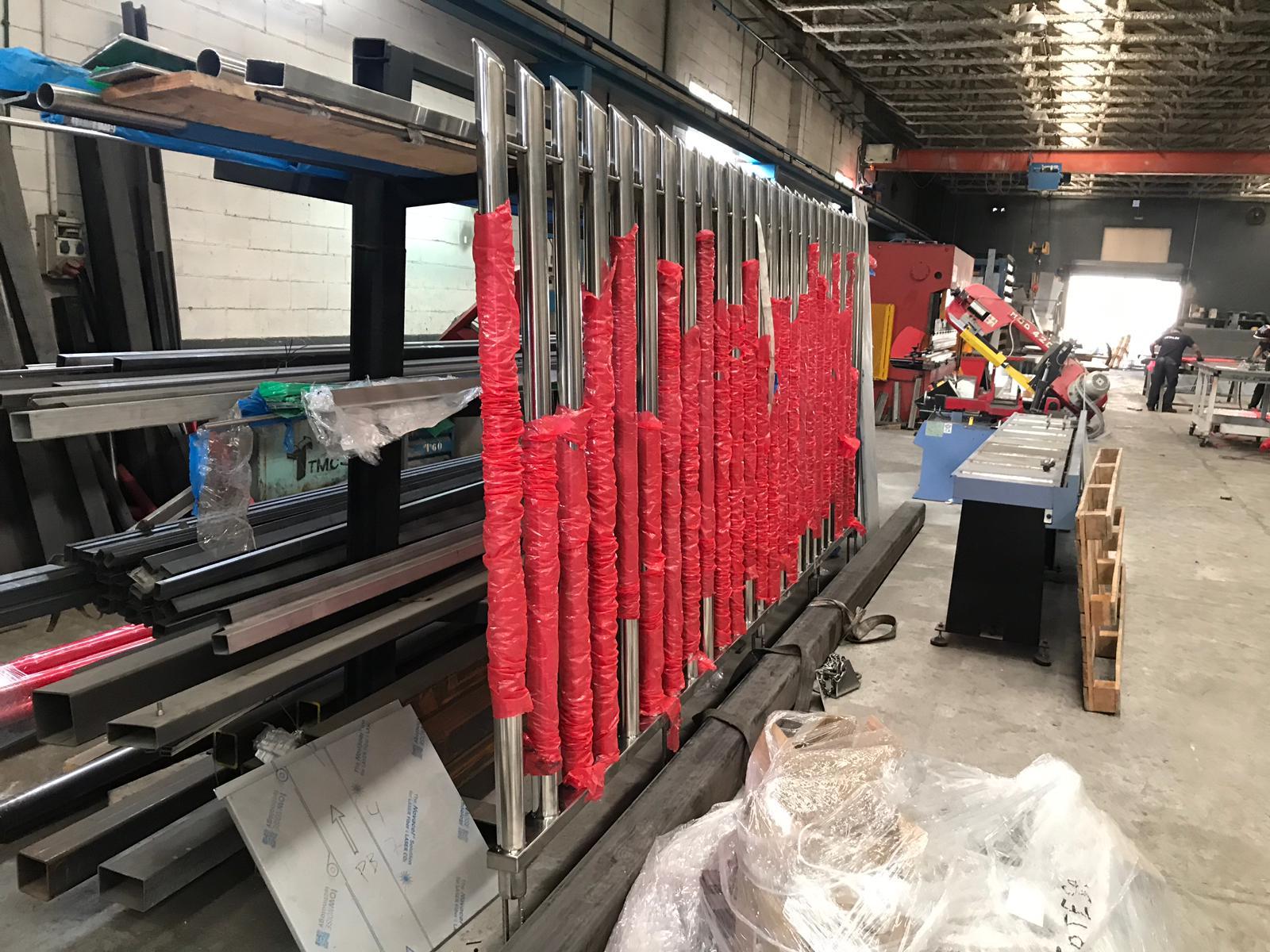 Fabricación Barrotes en Taller